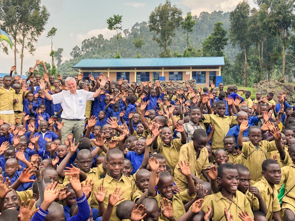 Schule in Ruanda