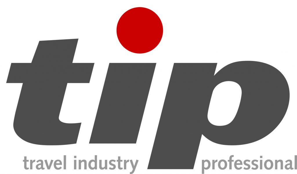 Tip travel industry professional logo